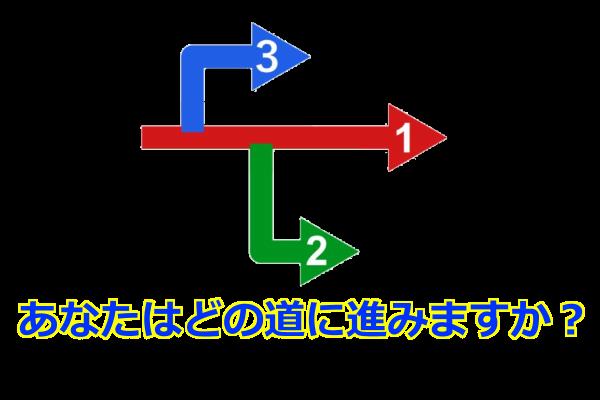 あなたは、どの道に進みますか?